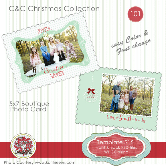 Christmas Photo Card Selection #101