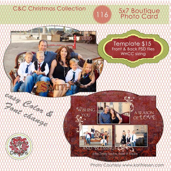 Christmas Photo Card Selection #116
