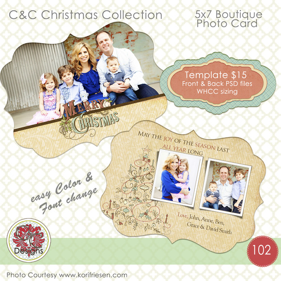 Christmas Photo Card Selection #102