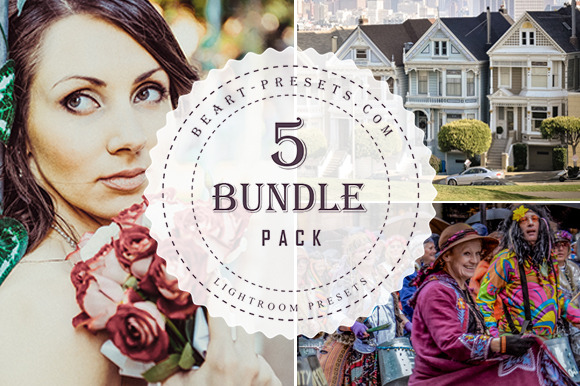 BUNDLE PACK 5 50 Lightroom Preset