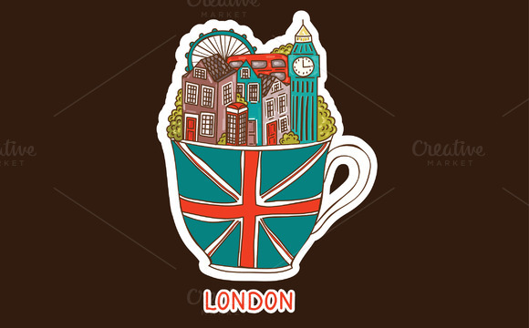 Vector London City Illustration