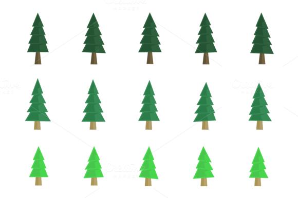 Flat Taper Pine Tree