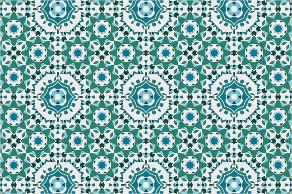 Seamless Geometric Mandala Pattern