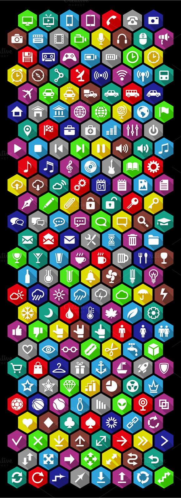 Set Of Universal Icons