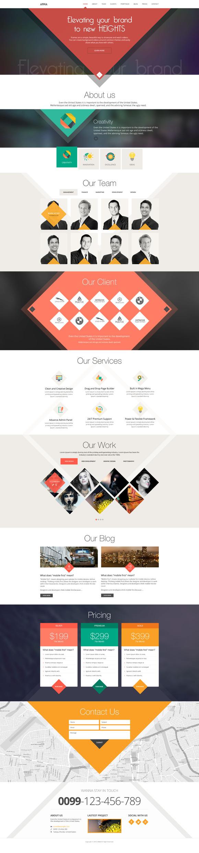 Anna- Flat Creative Design