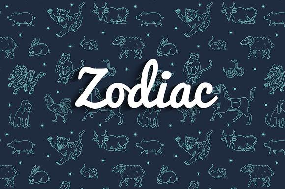Zodiac Doodle Set