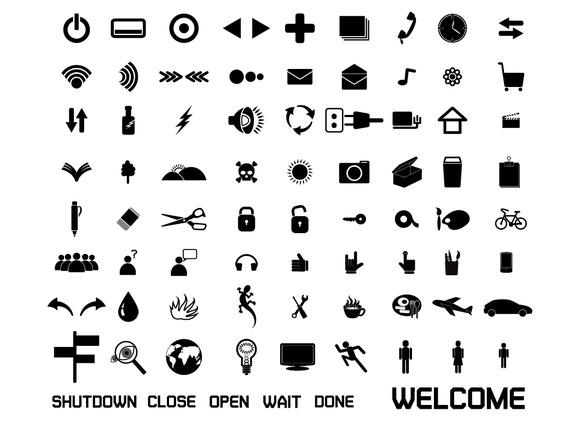 Set Of Web Icon