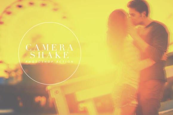 One Click Camera Shake PS Action