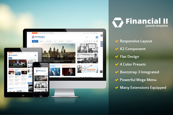 SJ Financial II Responsive Template