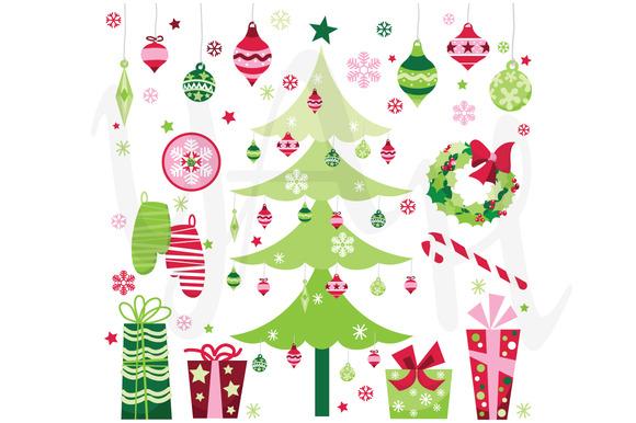 Christmas Elements Clip Art