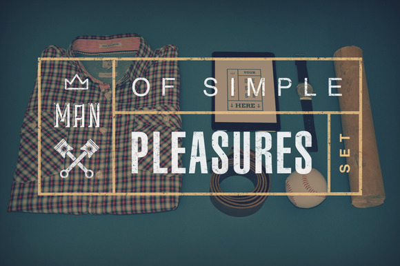 Man Of Simple Pleasures Set
