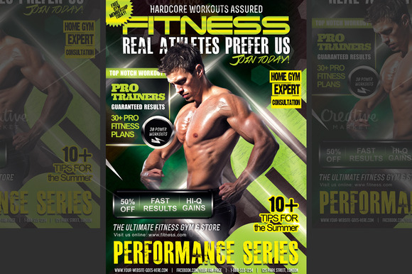 Performance Fitness Flyer