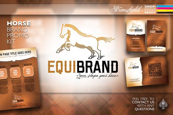 Western Horse Brand Promo Kit