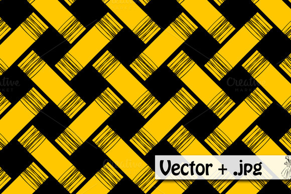 Woven Vector Pattern