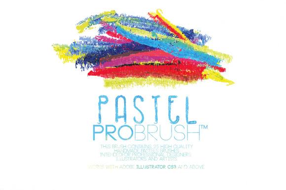 Pastels ProBrush