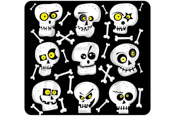 Halloween Cute Skull