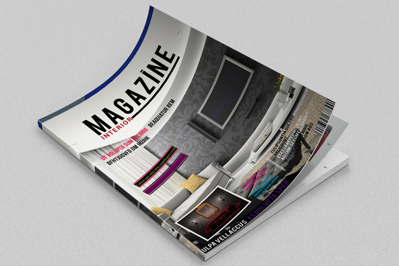 Interior Magazine Template