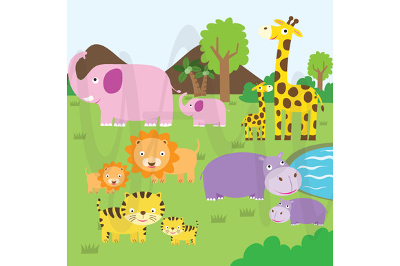 Cute Animal Clip Art