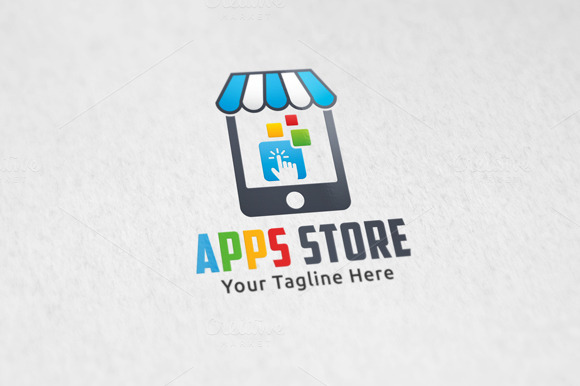 Apps Store Logo Template