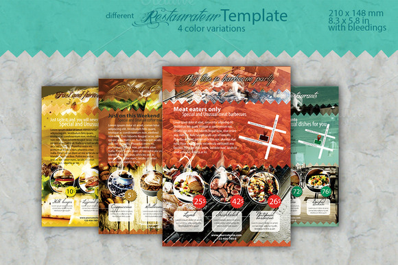 Restaurateur Flyer Template