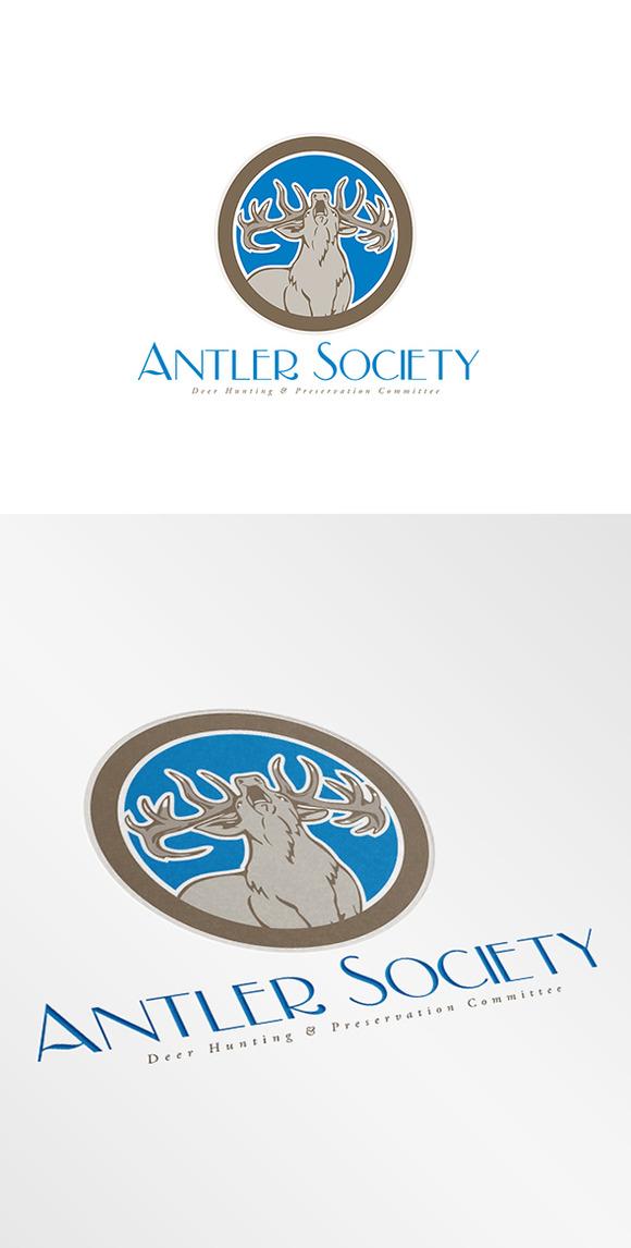 Antler Society Logo