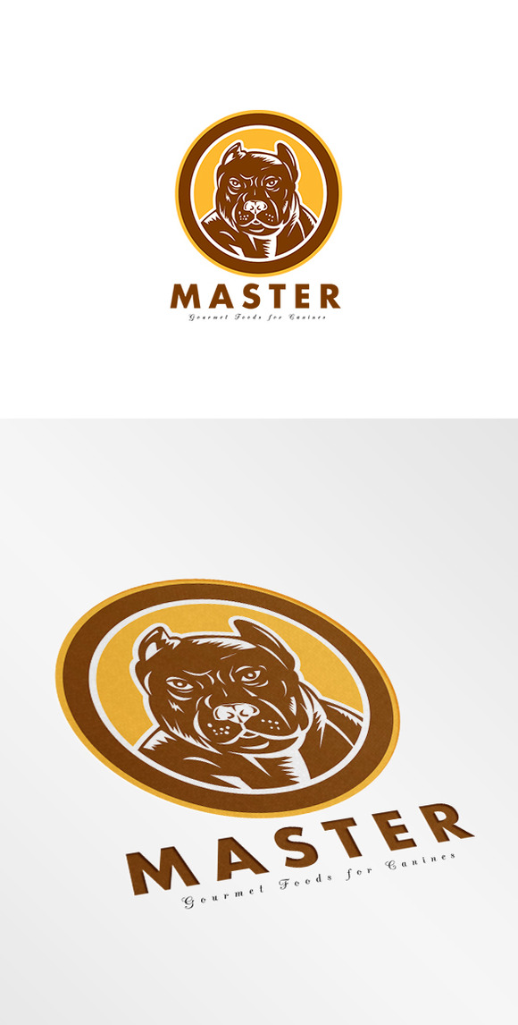 Master Gourmet Canine Food Logo