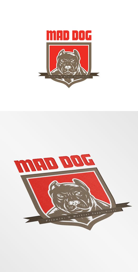 Mad Dog Vitamins Logo
