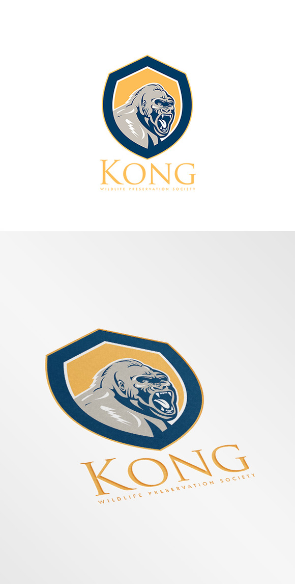 Kong Wildlife Society Logo