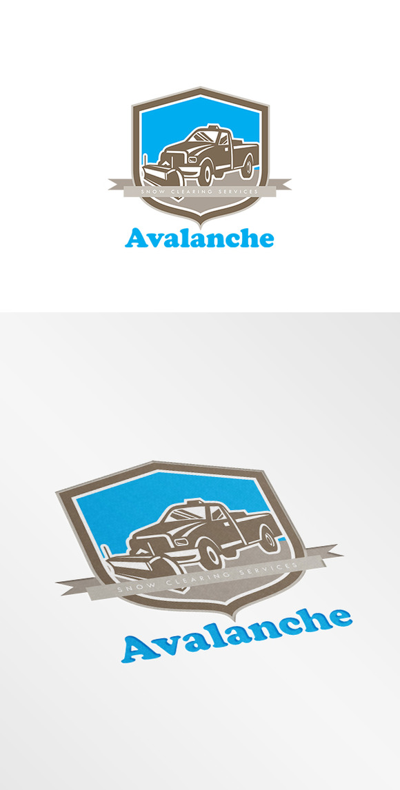 Avalanche Snow Clearing Logo