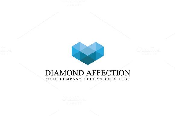Diamond Affection Logo Template