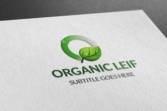 Organic Leif Logo