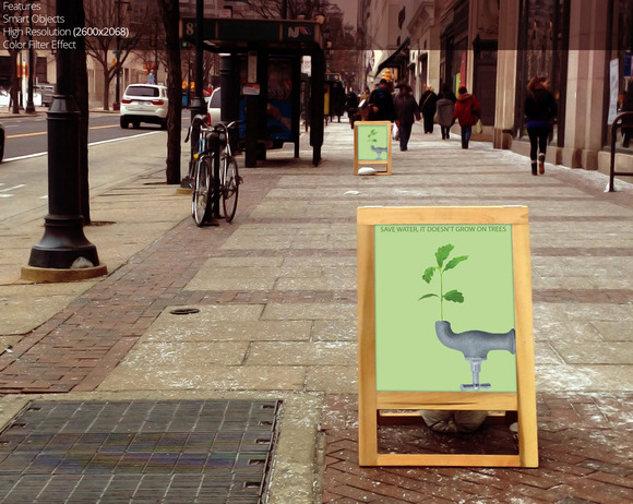 Sandwich Board Advertising 4