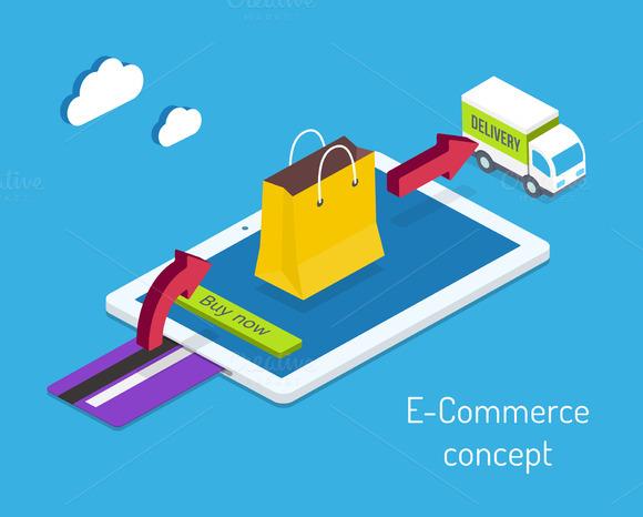 E-commerce Or Internet Shopping
