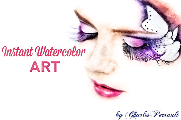 Instant Watercolor Art