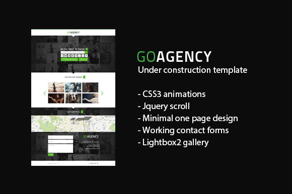 Under Construction Template GOagency