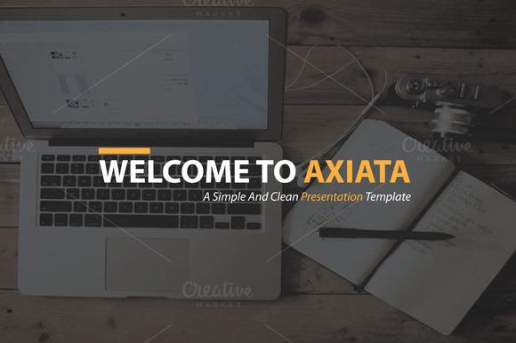 Axiata HD Presentation Template