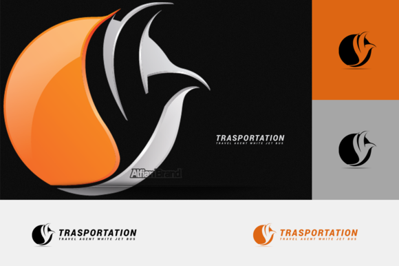 Transportation Bird Logo