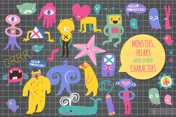 Monsters Freaks Other Characters