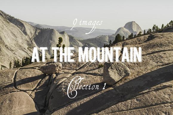 At The Mountain Photoset Coll 1