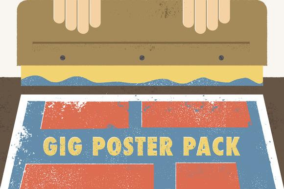 Gig Poster Pack