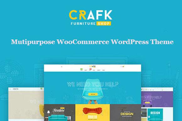 Craft Furniture WordPress Theme