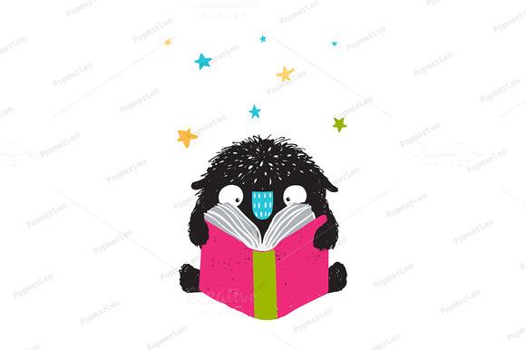 Monster Reading Book