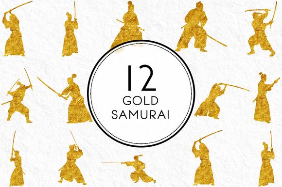 Gold Samurai
