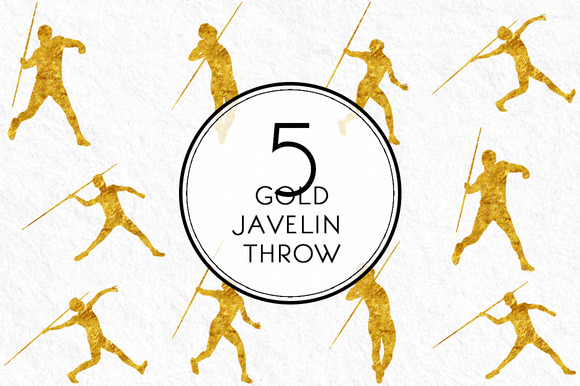 Gold Javelin Throw