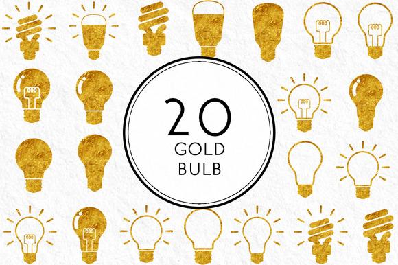 Gold Bulb