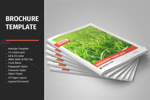 Panel brochure view designtube creative design content for 5 panel brochure template