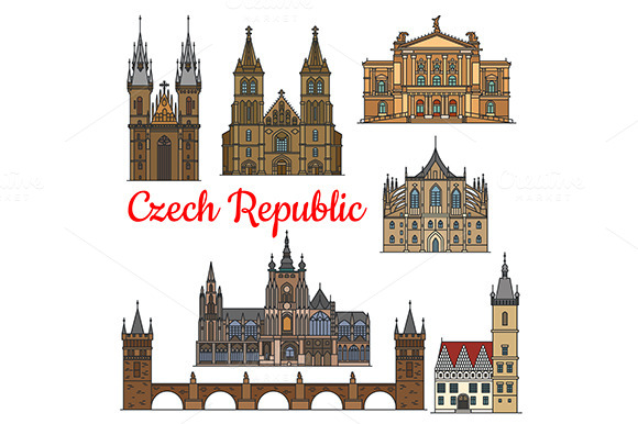 Travel Landmarks Of Czech Republic