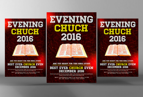 Evening Of Hope Flyer Template