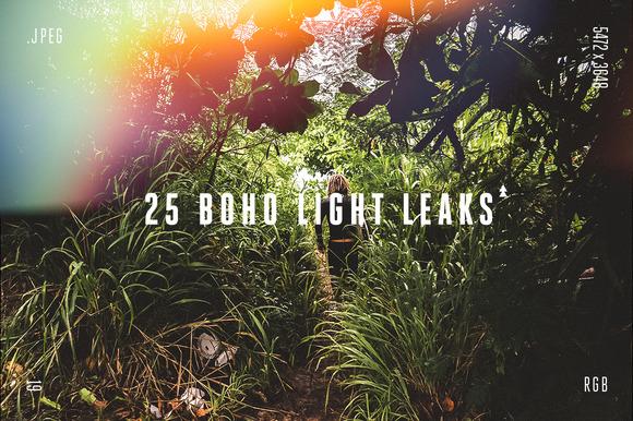 25 Boho Light Leaks