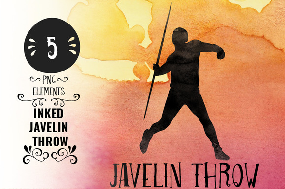 Inked Javelin Throw